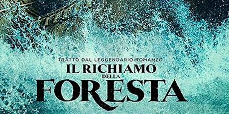Il richiamo della foresta- ingresso € 3 (gratuito per i minori di 12 anni) biglietti