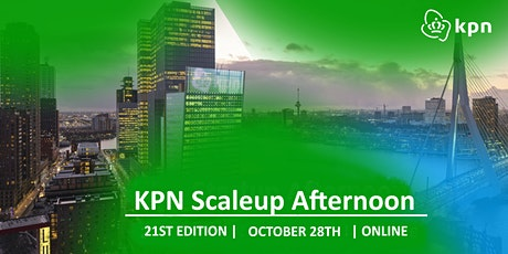 21st KPN Scaleup Afternoon - From single channel to omnichannel tickets