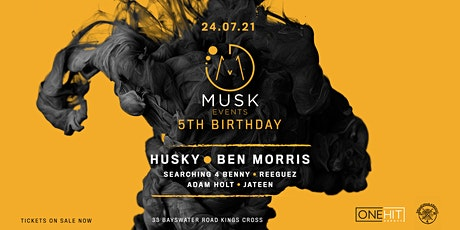 Musk event's 5th Birthday tickets