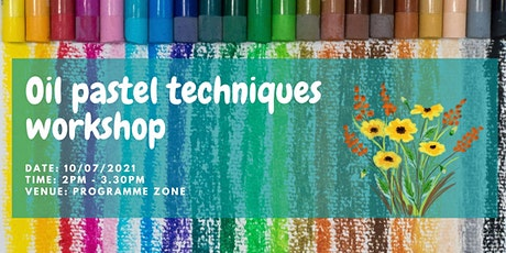 Oil Pastel Techniques Workshop tickets