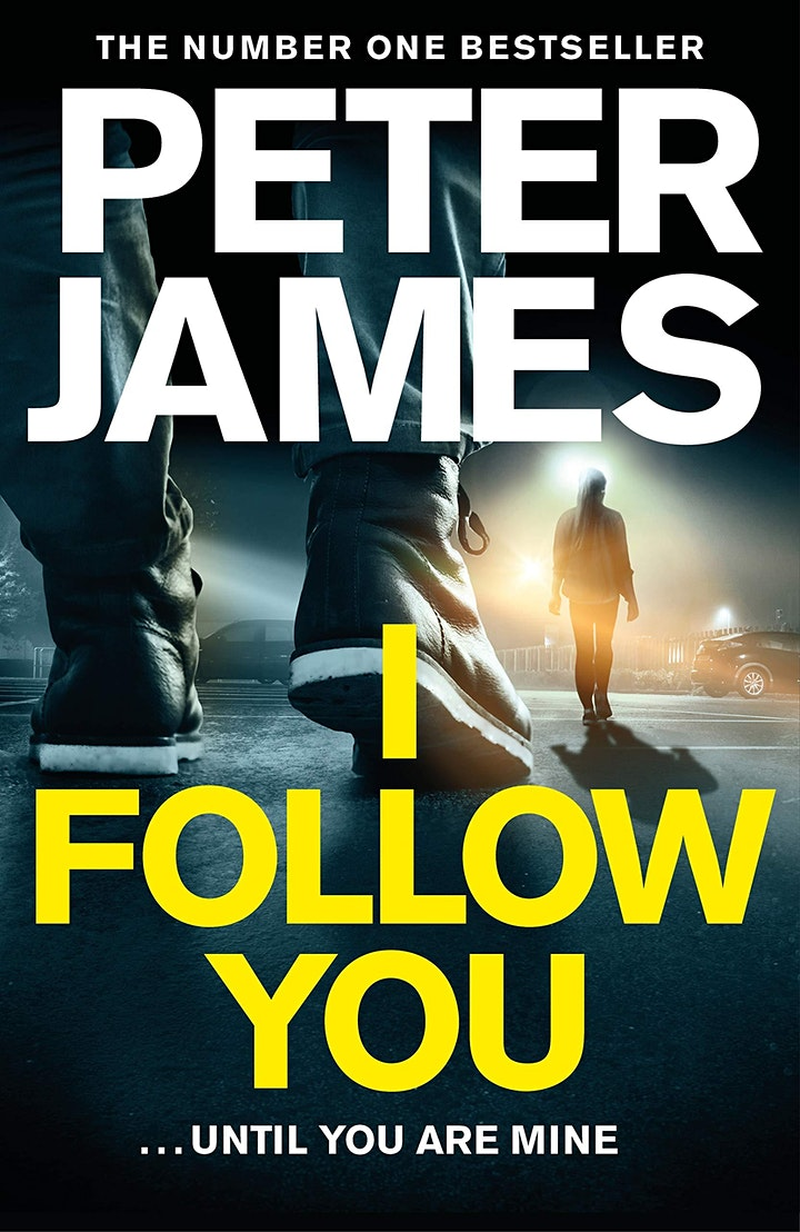Peter James at Jersey Library (SOLD OUT) image