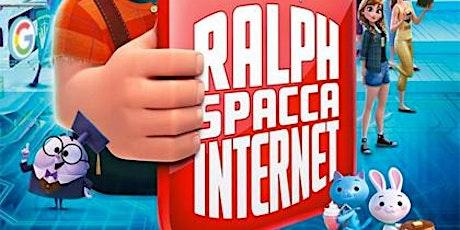 Ralph spacca internet- ingresso € 3 (gratuito per i minori di 12 anni) biglietti
