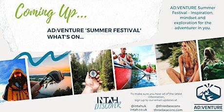 """AD:VENTURE - InTah Online """"Summer Festival"""" 2021 tickets"""