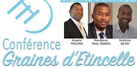 Conférence Graines d'Étincelle billets