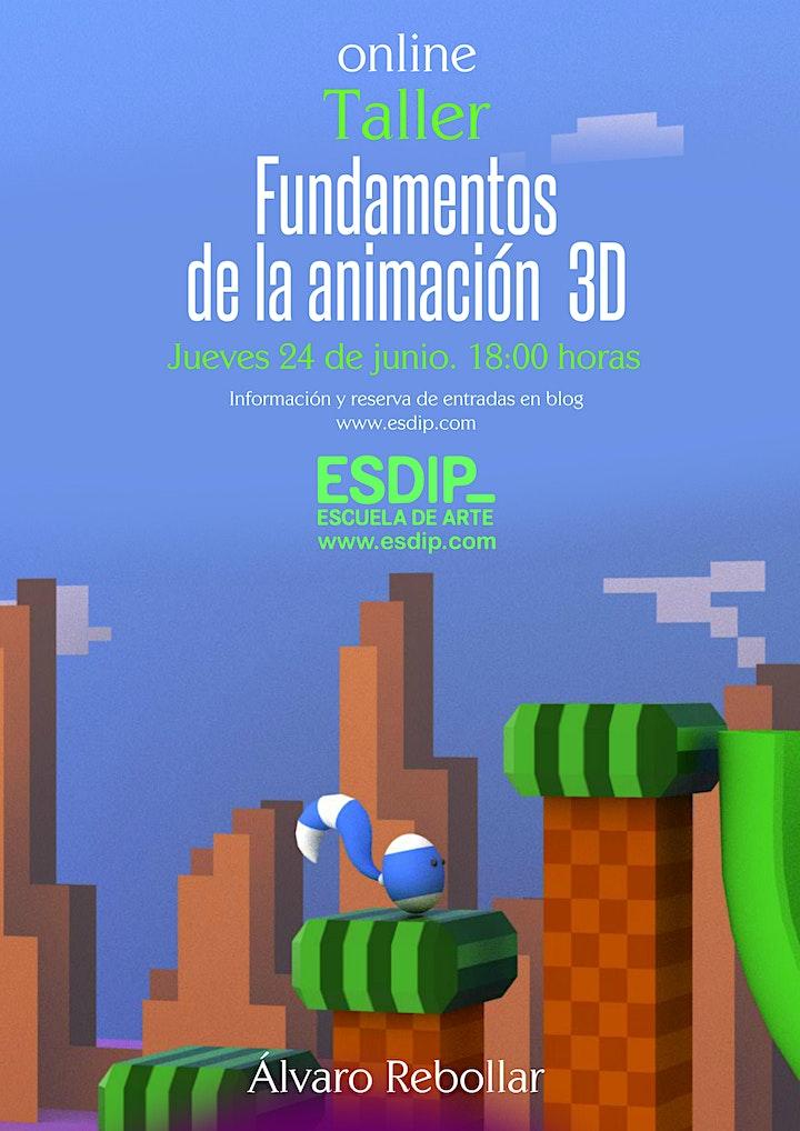 Imagen de Taller FUNDAMENTOS DE LA ANIMACIÓN 3D