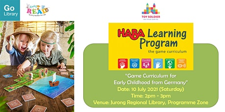 HABA Learning Program from Germany (Game Curriculum For Early  | Early READ tickets