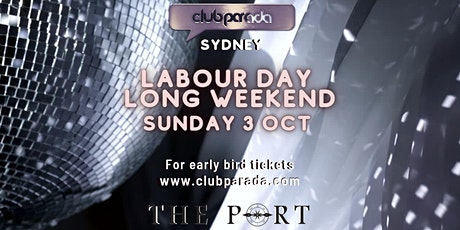 Club Parada Sydney Sun 3 Oct tickets