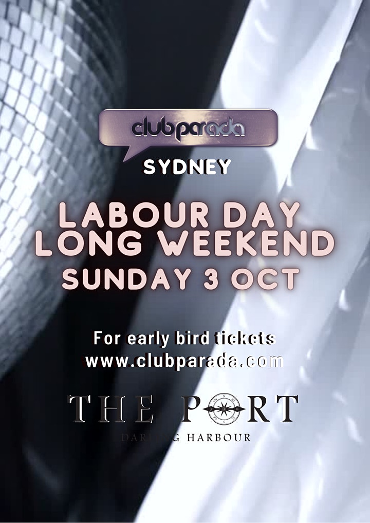 Club Parada Sydney Sun 3 Oct image