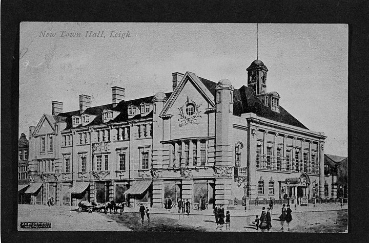 J. C. Prestwich and the Buildings of Leigh - Walking tour with Tom McGrath. image