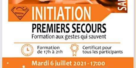 INITIATION AUX 1ER SECOURS tickets