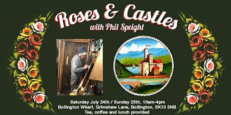 Roses and Castles - traditional canal art with Phil Speight tickets