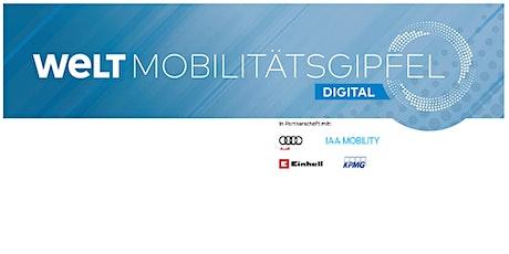 WELT Mobilitätsgipfel Tickets