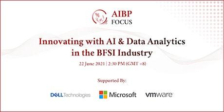 Innovating with AI & Data Analytics in the BFSI Industry biglietti