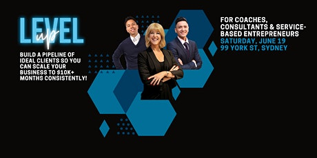 Level Up : In-Person Business Event - Sydney CBD tickets