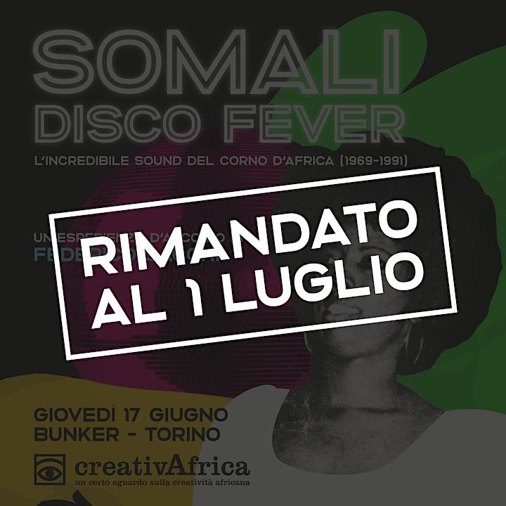 Immagine FEDERICO SACCHI Somali Disco Fever - L'incredibile sound del Corno d'Africa