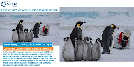 ADVENTURES OF A WILDLIFE PHOTOGRAPHER! - FOR PRIMARY SCHOOLS tickets