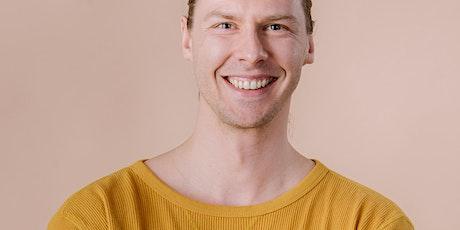 Joonatan Jääskeläinen: Mindfulness -workshop tickets