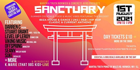 SANCTUARY (The Sunday Session) tickets