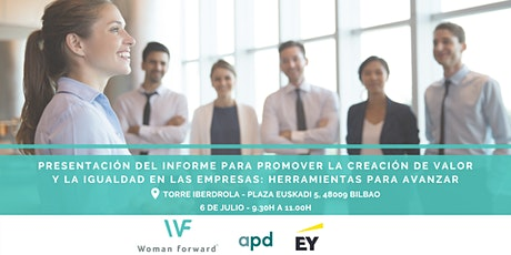 Presentación Informe para promover la creación de valor y la igualdad entradas