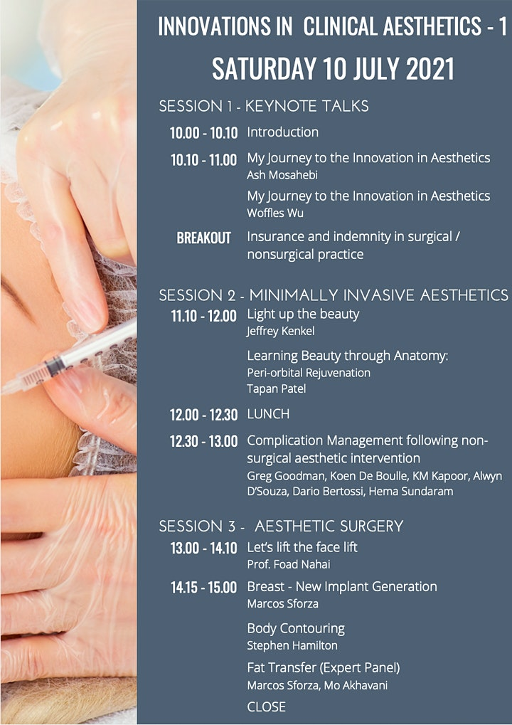 Innovations in Clinical Aesthetics image