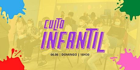 Culto Infantil tickets
