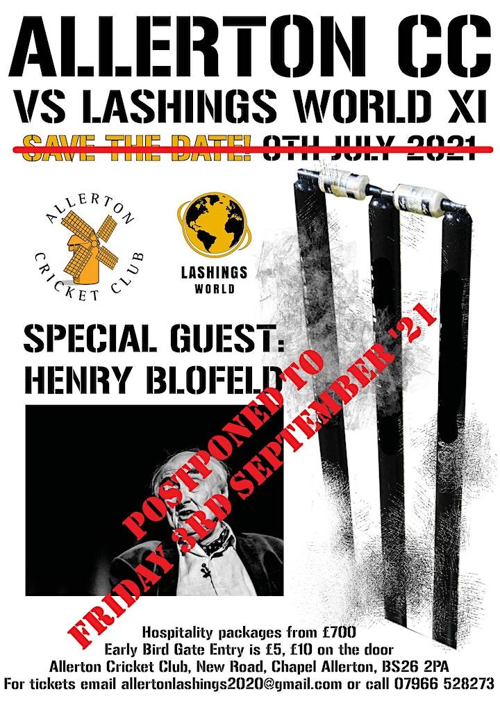 Allerton CC Vs Lashings World XI - T20 Cricket Match image