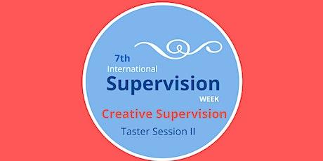 International Supervision Week: Creative Supervision Taster Workshop 2 tickets