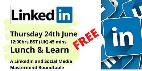 Lunch & Learn about LinkedIn and Social Media Sphere tickets