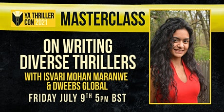 On Writing Diverse Thrillers - A Masterclass with Isvari Mohan Maranwe tickets