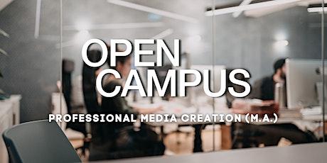 "Campus Insights - ""Professional Media Creation - Master"" - SAE Bochum Tickets"