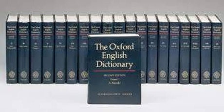 Books that Changed Humanity: Oxford English Dictionary tickets