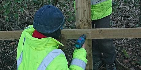 SVP Volunteer day - Fence installation at Christ Church tickets