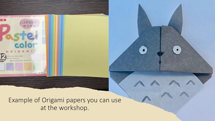 Origami : Japanese anime character making with Alice Stern image