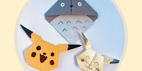 Origami : Japanese anime character making with Alice Stern tickets