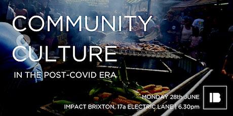 Lambeth Speaks: Community & Culture in the Post-Covid Era tickets