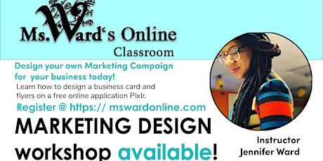 Marketing  Design Workshop tickets