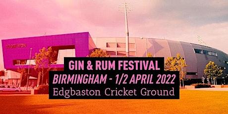 The Gin & Rum Festival - Birmingham - 2022 billets