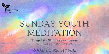 Sunday Youth Mindfulness tickets