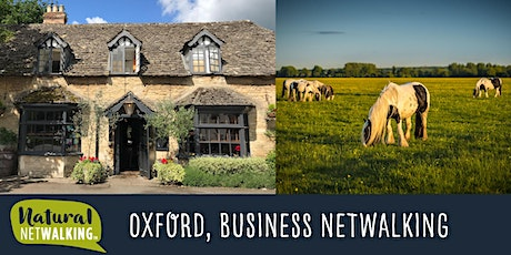 Natural Netwalking in Oxford. Thursday 26th August, 8am -10am tickets