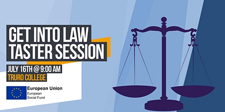 Get into Law Taster Session tickets