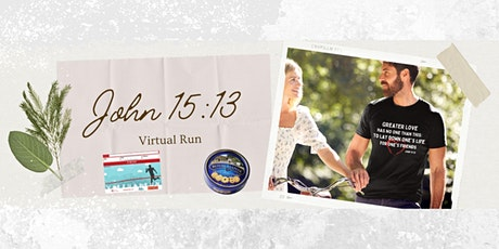John 15:13 What is Love Virtual Race tickets