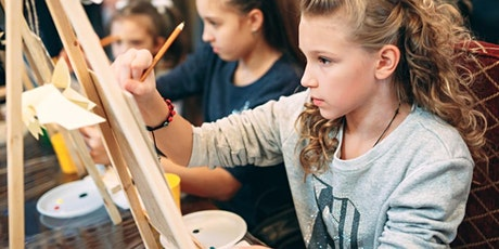 Crafty July for Creative Kids: Mini Acrylic Canvas Painting tickets