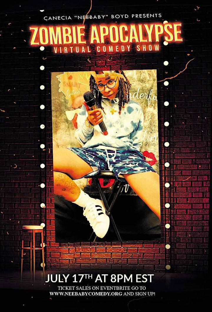 "Canecia ""Neebaby"" Boyd Presents ""Zombie  Apocalypse"" image"