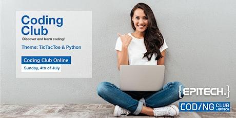 Epitech Tic Tac Toe Coding Club - Python Tickets