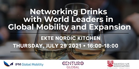 Networking Drinks with World leaders in GlobalMobility and Expansion tickets