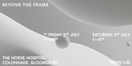 Beyond The Frame: Royal College of Art IED Moving Image Installations tickets