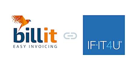 Webinar: Billit en IF-IT4U 'Hoe pas ik mijn lay-out aan?' tickets