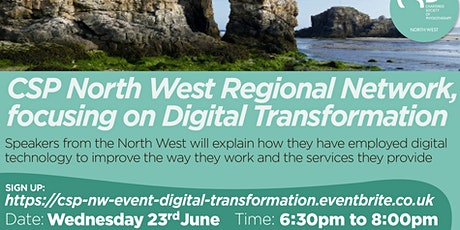 CSP North West Virtual Event: Digital Transformation tickets