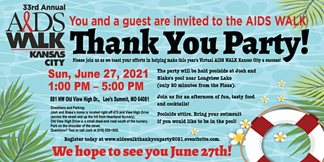 AIDS WALK Thank You Party! tickets