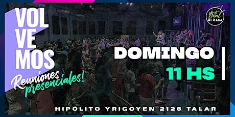Reunión Presencial Iglesia Cristiana Bethel - Domingo 20 / 06 - 11:00 hs entradas